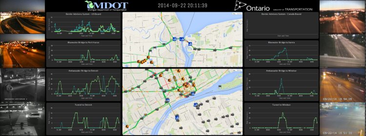 Sample MDOT/MTO dashboard 1
